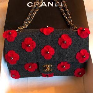 Authentic Medium Classic Chanel Double Flap Bag